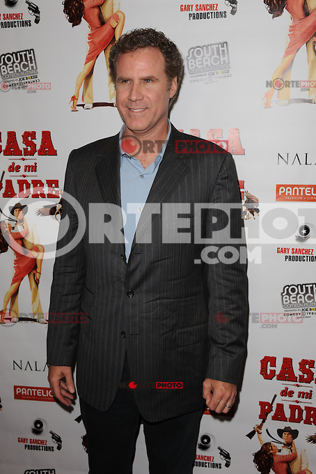 MIAMI BEACH , FL - FEBRUARY 29: Will Ferrell arrives at the Casa Di Mi Padre movie screening on February 29, 2012 in Miami Beach, Florida. © mpi04 / Media Punch Inc.