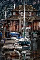 Boats at the Dock, Cowichan Bay Marina