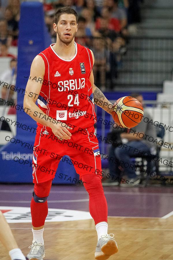 Kosarka Srbija - Francuska prijateljska<br /> Stefan Jovic<br /> 25.6.1016. JUN 25. 2016. (credit image &amp; photo: Marko Djokovic / STARSPORT)