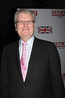 LOS ANGELES - FEB 24:  Sir Howard Stringer arrives at the GREAT British Film Reception at the British Consul General's Residence on February 24, 2012 in Los Angeles, CA.
