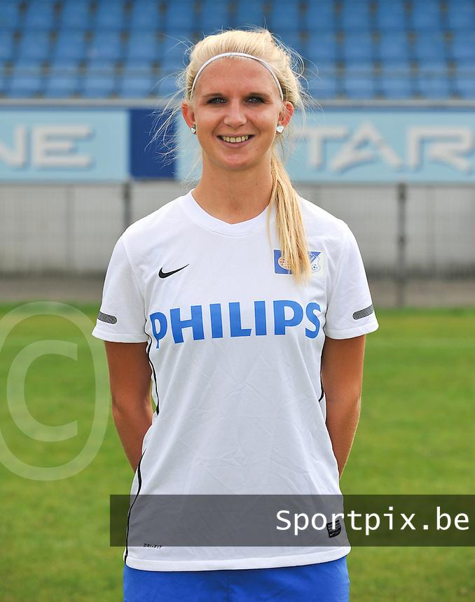 PSV / FC Eindhoven Dames : Nikki de Roest .foto DAVID CATRY / Vrouwenteam.be