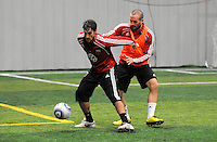 DC United forward Josh Wolff (16)  at the first official training session of the 2011 MLS season.  At Greenbelt Sportsplex, Friday January 28, 2011.
