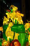 2016 Chinese New Year Celebrations in Sydney, Lunar Lanterns Festival across the city cbd. Year of the Monkey, Sydney, NSW, Australia