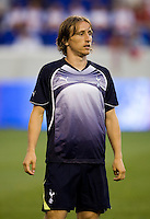 Luka Modric. Tottenham defeated the New York Red Bulls, 2-1.