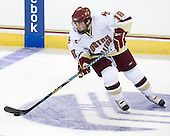 Kenny Ryan (BC - 18) - The Boston College Eagles defeated the St. Francis Xavier University X-Men 4-1 in their exhibition match on Sunday, October 4, 2009, at Conte Forum in Chestnut Hill, Massachusetts.