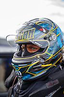Apr 22, 2017; Baytown, TX, USA; NHRA funny car driver Matt Hagan during qualifying for the Springnationals at Royal Purple Raceway. Mandatory Credit: Mark J. Rebilas-USA TODAY Sports