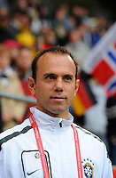 Coach Kleiton Lima  of team Brazil during the FIFA Women's World Cup at the FIFA Stadium in Wolfsburg, Germany on July 3rd, 2011.
