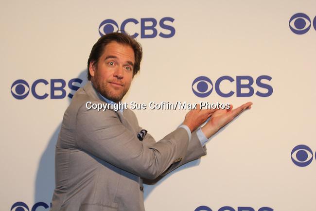 05-19-16 CBS Upfront - Michael Weatherly - Bull