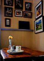 Table at the Rustric Grandma's Coffee House, Keokea, Maui