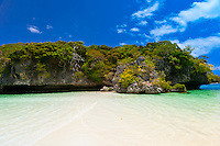 Bay of Kanumera, near the Oure Tera Beach Resort, Ile des Pins (Isle of Pines), New Caledonia