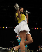 Washington, DC - April 13, 2009 -- Fergie performs during the annual Easter Egg Roll on the South Lawn of the White House in Washington on Monday, April 13, 2009.  .Credit: Roger L. Wollenberg - Pool via CNP