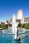 A statue in a fountain at Caesars in Las Vegas, Nevada, NV, Las Vegas, city, statues and fountains in the entrance of Caesars Palace and Casino, sunny, Photo nv291-17091..Copyright: Lee Foster, www.fostertravel.com, 510-549-2202,lee@fostertravel.com