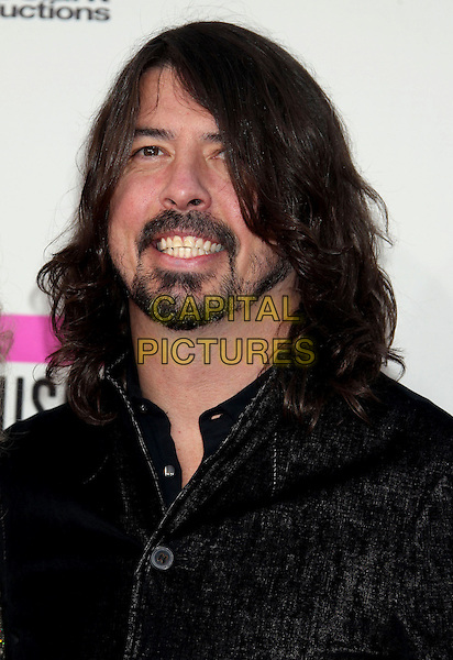 LOS ANGELES, CA - NOVEMBER 24: Dave Grohl at the 2013 American Music Awards at Nokia Theatre L.A. Live on November 24, 2013 in Los Angeles, California. <br /> CAP/ADM/RE<br /> &copy;Russ Elliot/AdMedia/Capital Pictures