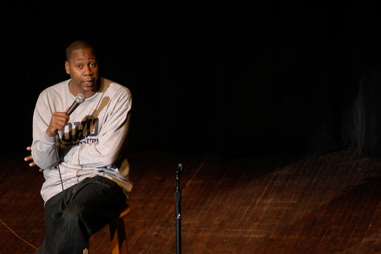 16899Comedian M. Curry Performing :  Photos by Johnny Hanson