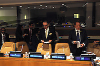 NEW YORK, USA - SEPT 23, U.S.UN Deputy Secretary-General Jan Eliasson in meeting to make an  agreement with the League of Arab States on Children and Armed Conflict on September. 23.2014 photo by VIEWpress