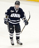 Grayson Downing (UNH - 28) - The Boston College Eagles and University of New Hampshire Wildcats tied 4-4 on Sunday, February 17, 2013, at Kelley Rink in Conte Forum in Chestnut Hill, Massachusetts.