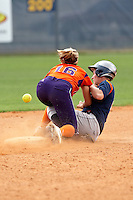 SAN ANTONIO, TX - APRIL 26, 2009: The Northwestern State University Lady Demons vs. The University of Texas at San Antonio Roadrunners Softball at Roadrunner Field. (Photo by Jeff Huehn)
