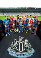 Picture by Allan McKenzie/SWpix.com - 15/05/2017 - Rugby League - Dacia Magic Weekend 2017 Preview - St James Park, Newcastle, England -