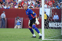 FC Barcelona goalkeeper Victor Valdez (1)Manchester United defeated Barcelona FC 2-1 at FedEx Field in Landover, MD Saturday July 30, 2011.