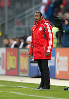 16 April 2011: Toronto FC head coach Aron Winter looks concerned on the sideline during an MLS game between D.C. United and the Toronto FC at BMO Field in Toronto, Ontario Canada..D.C. United won 3-0.