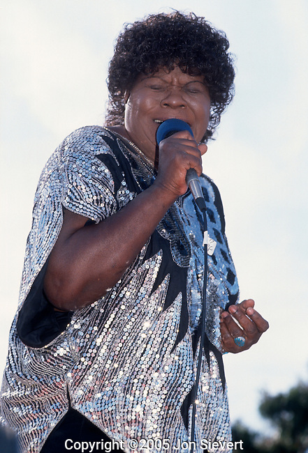 Koko Taylor, Sept. 1990, San Francisco Blues Festival