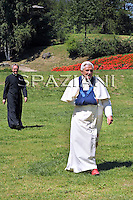 Summer retreat at Les Combes, Benedict XVI Val d'Aosta region of northern Italy July 29, 2009