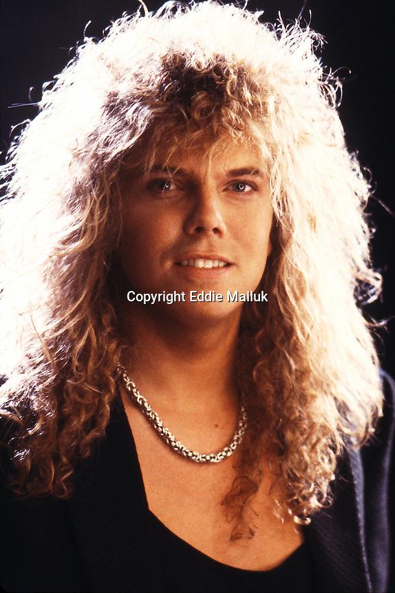 Europe, Superstitious Video Shoot, Joey Tempest, John Levén, Mic Michaeli, Ian - EUROPE-Video-1988-EDDIE-MALLUK-ATLASICONS-COM-2-1