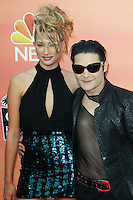 LOS ANGELES, CA, USA - MAY 01: Courtney Anne, Corey Feldman at the iHeartRadio Music Awards 2014 held at The Shrine Auditorium on May 1, 2014 in Los Angeles, California, United States. (Photo by Celebrity Monitor)