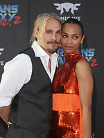 """HOLLYWOOD, CA - April 19: Zoe Saldana, Marco Perego, At Premiere Of Disney And Marvel's """"Guardians Of The Galaxy Vol. 2"""" At The Dolby Theatre  In California on April 19, 2017. Credit: FS/MediaPunch"""