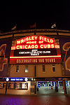 Wrigley Field, Home of the Chicago Cubs Baseball Team, Chicago, Illinois, USA
