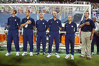 USMNT coaching staff. The USA lost 3-1 against Poland in the FIFA World Cup 2002 in Korea on June 14, 2002.