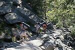 Backpackers near Vernal Falls