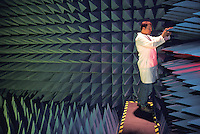 released scientist in anechoic, acoustic chamber National Institute of Standards and Technology