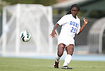 24 August 2012: Duke's Tabria Williford. The Duke University Blue Devils defeated the University of Montreal Caribins 4-1 at Fetzer Field in Chapel Hill, North Carolina in an international women's collegiate friendly game.
