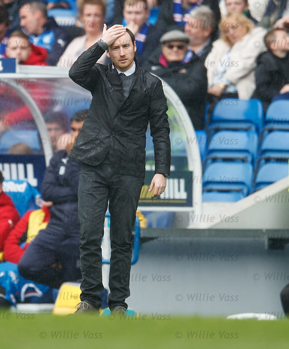 Hearts manager Ian Cathro