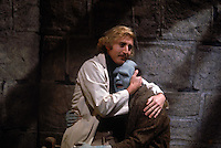 Young Frankenstein (1974) <br /> Gene Wilder as Dr. Frederick Frankenstein<br /> Peter Boyle as The Monster <br /> *Filmstill - Editorial Use Only*<br /> CAP/PLF<br /> Supplied by Capital Pictures / MediaPunch