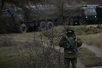 The Russian occupation of Crimea