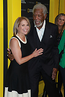 NEW YORK, NY - APRIL 19: Katie Couric and Morgan Freeman at National Geographic's Further Front at Jazz at Lincoln Center on April 19, 2017 in New York City. <br /> CAP/MPI/DC<br /> &copy;DC/MPI/Capital Pictures