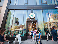 An Ivivva store, a brand of Lululemon Athletica geared toward young girls in Union Square in New York on Sunday, april 17, 2016.  (© Richard B. Levine)