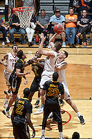 SAN ANTONIO, TX - FEBRUARY 9, 2017: The University of Texas at San Antonio Roadrunners defeat the University of Southern Mississippi Golden Eagles 57-51 at the UTSA Convocation Center. (Photo by Jeff Huehn)