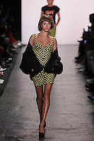 JEREMY SCOTT<br /> New York Fashion Week<br /> Ready to Wear, Spring Summer 16/17<br /> on September 12, 2016<br /> CAP/GOL<br /> &copy;GOL/Capital Pictures /MediaPunch ***NORTH AND SOUTH AMERICAS ONLY***