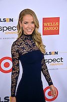 BEVERLY HILLS, CA. October 21, 2016: Model Olivia Jordan, Miss USA 2015, at the 2016 GLSEN Respect Awards, honoring leaders iin the fight against bullying &amp; discrimination in schools, at the Beverly Wilshire Hotel.<br /> Picture: Paul Smith/Featureflash/SilverHub 0208 004 5359/ 07711 972644 Editors@silverhubmedia.com