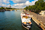 Paris - France - Pont Alexadre 111 - Dutch Barge