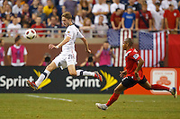 7 June 2011: USA Men's National Team defender Clarence Goodson (21) in the first half during the CONCACAF soccer match between USA and Canada at Ford Field Detroit, Michigan.