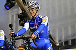 Iljo Keisse (BEL) Quick-Step Floors team on stage at sign on before the 101st edition of the Tour of Flanders 2017 running 261km from Antwerp to Oudenaarde, Flanders, Belgium. 26th March 2017.<br /> Picture: Eoin Clarke | Cyclefile<br /> <br /> <br /> All photos usage must carry mandatory copyright credit (&copy; Cyclefile | Eoin Clarke)