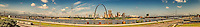 St. Louis riverfront panorama 2