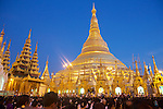 Festival Of The Moon, Shwedagon Pagoda