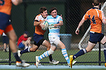 27 September 2014: North Carolina's Cameron Hardie. The University of North Carolina Tar Heels hosted the University of Virginia Cavaliers at Hooker Field in Chapel Hill, NC in a 2014-15 USA College Rugby match. North Carolina won the game 27-12.
