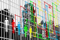 """Rat Race - Map"" - 11/11/2011 - Digital Mixed Media - ©Thierry Gourjon"