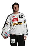 Handball Bundesliga 2005/2006 Autogrammkarten Concordia Delitzsch Torhueter Roman FITILEV (Concordia) Autogrammkarte, Portrait, Ball, Studio, Freisteller.